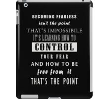 DVRGNT - Quote by Four (3) iPad Case/Skin