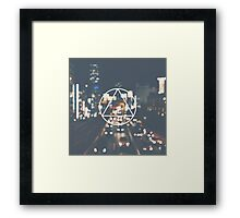 Triangle symbol Framed Print