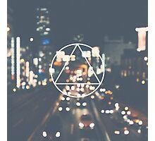 Triangle symbol Photographic Print