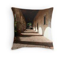 Old Mission San Juan Capistrano Throw Pillow
