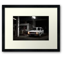 Volkswagen Golf GTI MK1 Framed Print