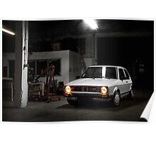 Volkswagen Golf GTI MK1 Poster
