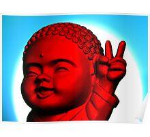 Peace Buddha Poster