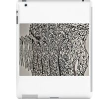 Illustrated Depth and Dimension iPad Case/Skin