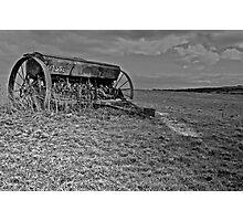 Massey Harris Machine Photographic Print