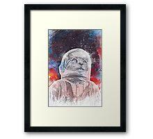 Space_Cat Framed Print