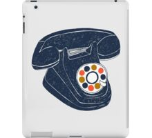 Retro Telephone iPad Case/Skin