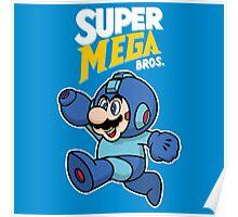 Super Mega Bros. Poster