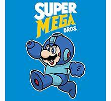 Super Mega Bros. Photographic Print