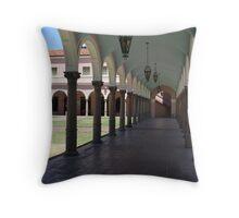 Tucson Courthouse Throw Pillow