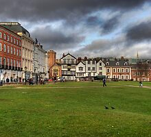 Exeter Cathedral Square by DonDavisUK