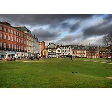 Exeter Cathedral Square Photographic Print