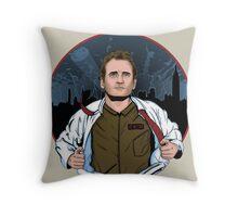 The hero of New York Throw Pillow