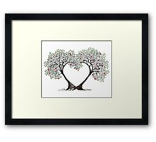 love trees Framed Print