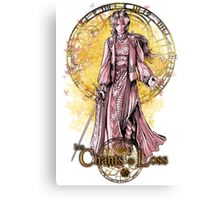 Anis with sword Canvas Print