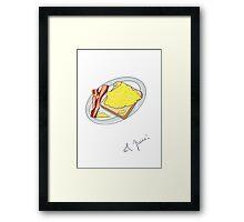 eggcellent eggs Framed Print