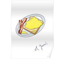 eggcellent eggs Poster