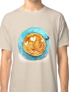 hearts and coffee Classic T-Shirt
