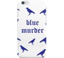 Blue Murder of Crows  iPhone Case/Skin