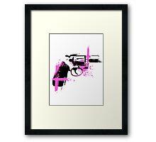 Colt- pink Framed Print
