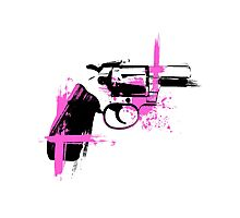 Colt- pink Photographic Print