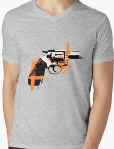 Colt - orange Mens V-Neck T-Shirt