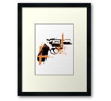 Colt - orange Framed Print