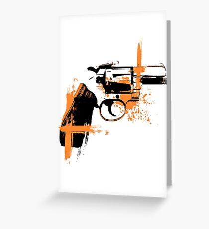 Colt - orange Greeting Card