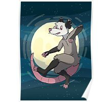Opossum In Space Poster