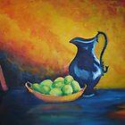 Still Life with Lemons by Mai Kari  Hartvaag Zimbleman