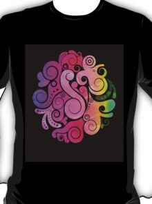 3D Art Color T-Shirt