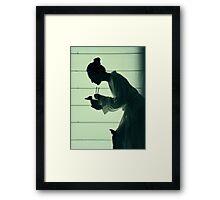 geisha Framed Print