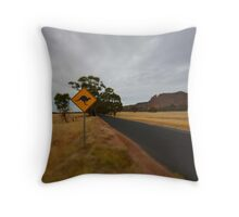 Roo Crossing Throw Pillow