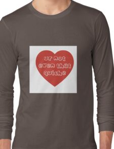 Quiche Heart Long Sleeve T-Shirt