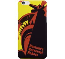 RUR - universal robot - android iPhone Case/Skin