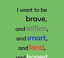 I Want to Be Divergent by yaeld