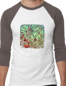 Blossom Frenzy - TTV Men's Baseball ¾ T-Shirt