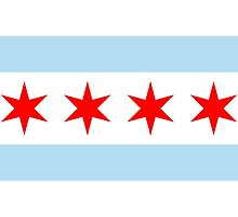 City of Chicago Flag  by abbeyz71