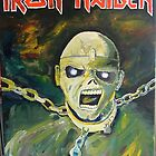 Eddie from Iron Maiden by Ryan Harvey