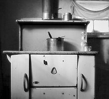 Ghost Town Kitchen - Guadalupe, New Mexico by Mitchell Tillison