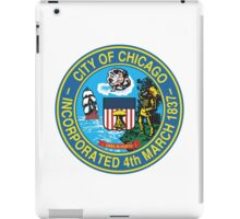 City of Chicago Seal iPad Case/Skin