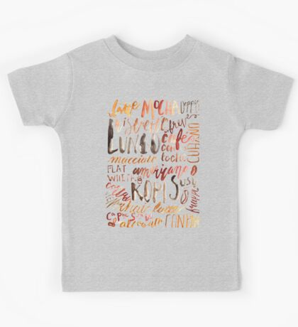 Coffee Jungle Kids Tee