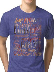 Coffee Jungle Tri-blend T-Shirt