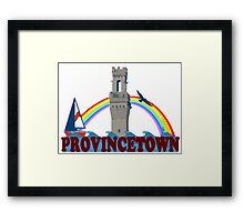 Provincetown - Cape Cod. Framed Print