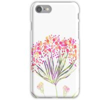 Watercolor painting, flower iPhone Case/Skin