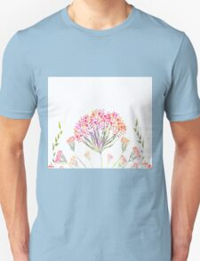 Watercolor painting, flower T-Shirt