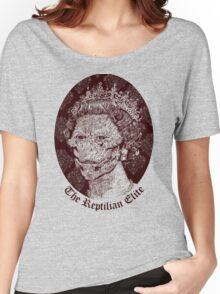 The Reptilian Elite Women's Relaxed Fit T-Shirt