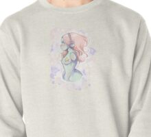 Creepy cute pastel girl Pullover