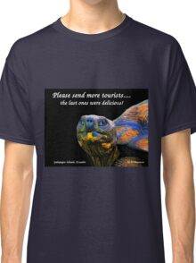 Please Send More Tourists - Tortuga Classic T-Shirt