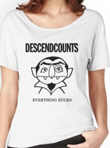 Descendcounts - everything sucks Women's Relaxed Fit T-Shirt